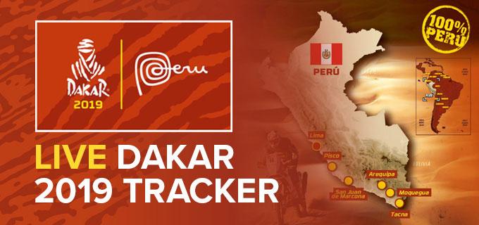 Dakar Interactive Tracker