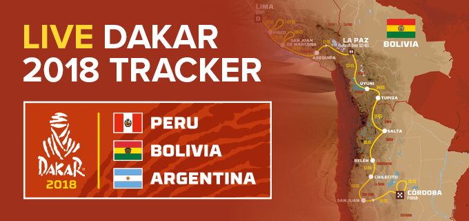 Dakar Interactive Tracker