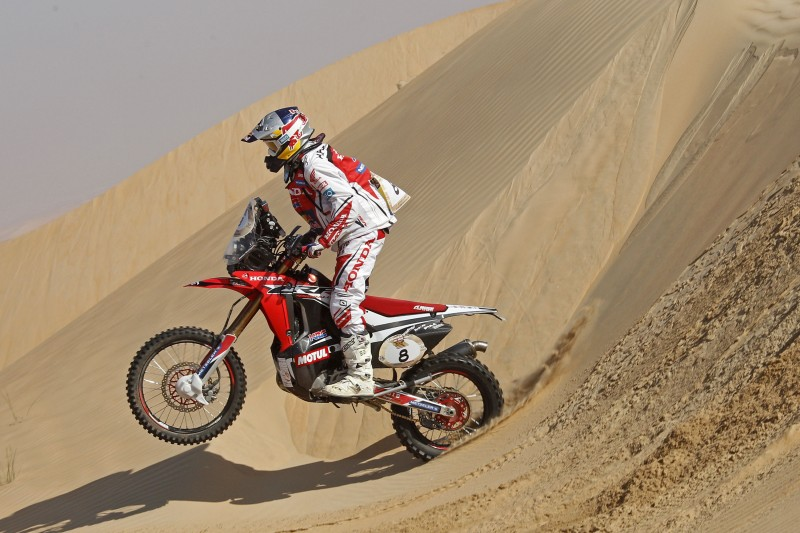 Paulo Gonçalves consolidates his third place in the Abu Dhabi Desert Challenge