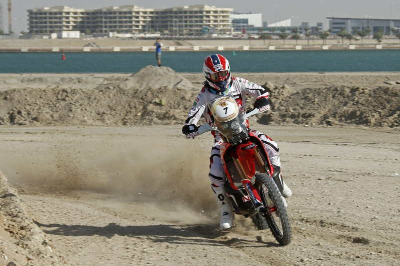 Joan Barreda, winner of Abu Dhabi Desert Challenge's Super Special