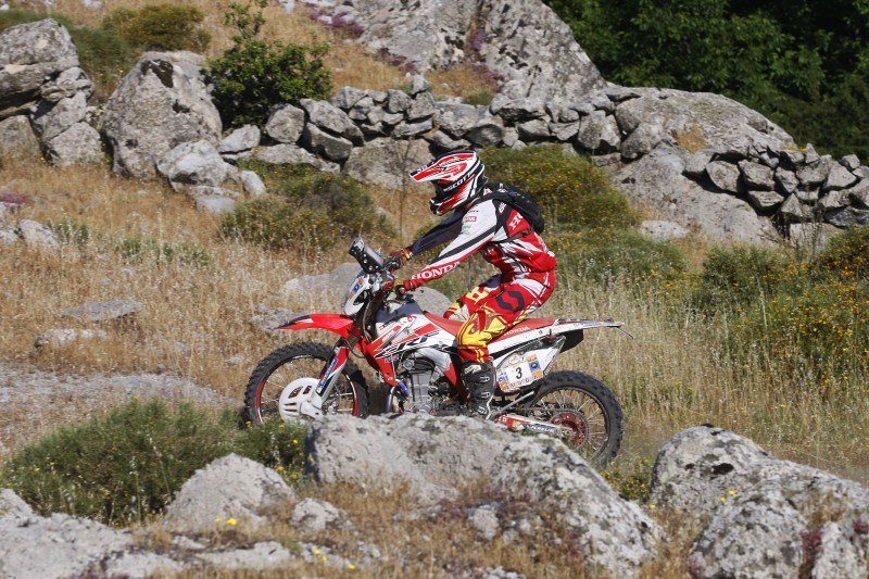 Joan Barreda wins the second to last stage of the Sardinia Rally