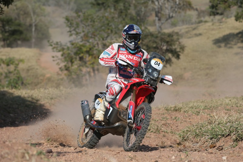 Paulo Goncalves takes third place in the Rally Sertoes, ahead of tomorrow's longest special