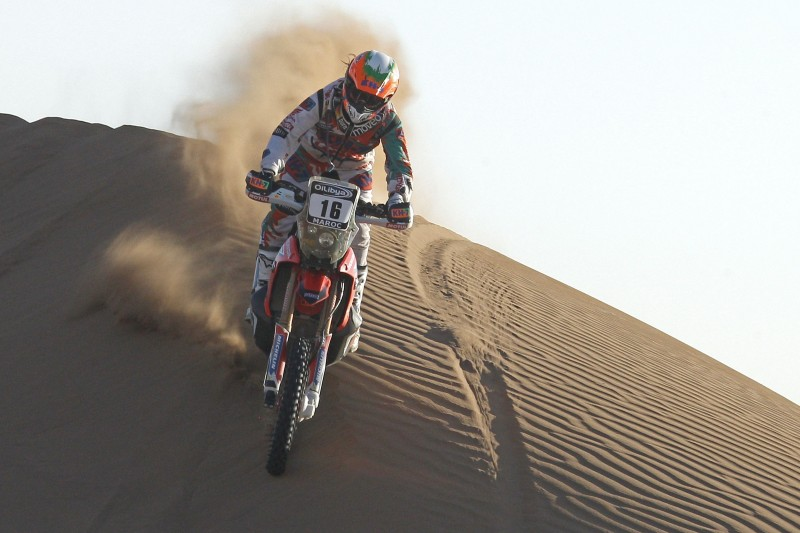 Positive day for Team HRC riders in stage four of the OiLibya Rally of Morocco
