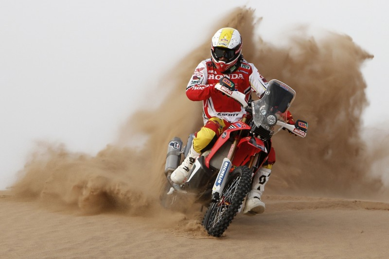A new Team HRC, ready to take on the OiLibya Rally of Morocco
