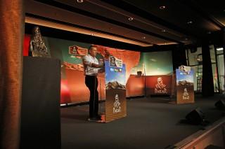 AUTO - DAKAR PRESENTATION 2015