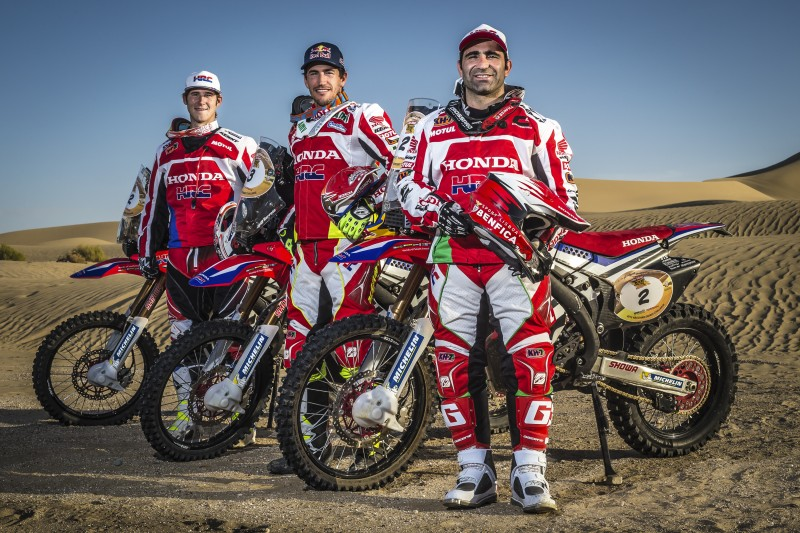 Team HRC back to work