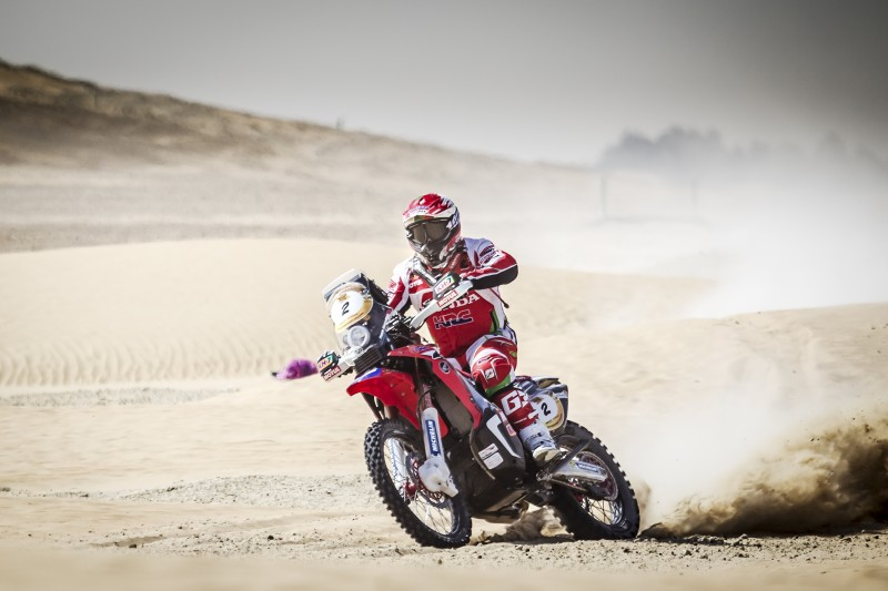 Team HRC takes up positions in Abu Dhabi