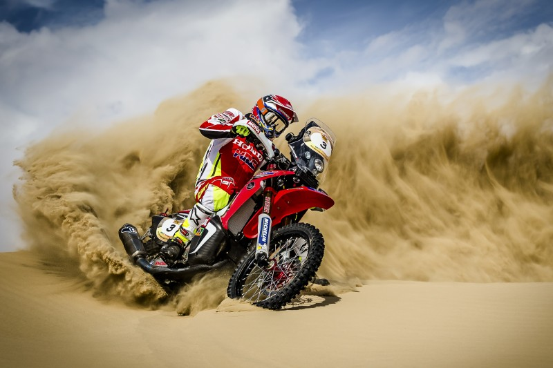 Tough day for Team HRC in Abu Dhabi