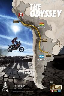 Dakar 2016_route1