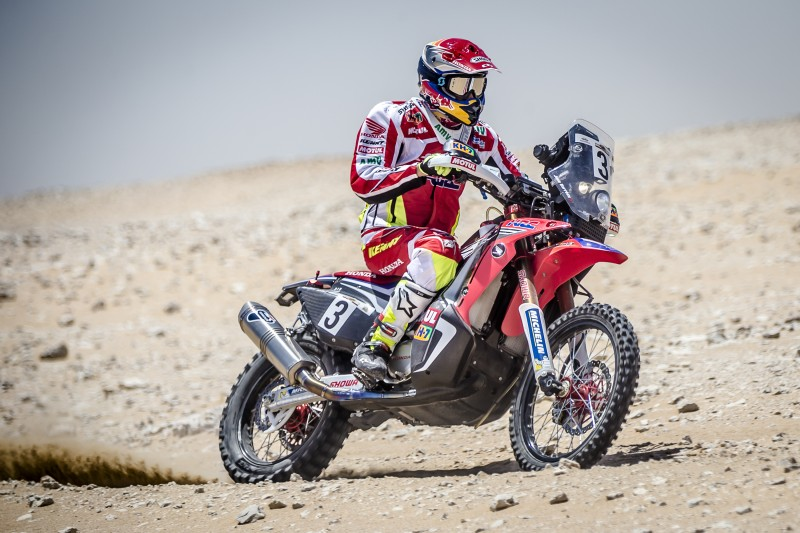 Joan Barreda takes second place at Qatar Rally opener