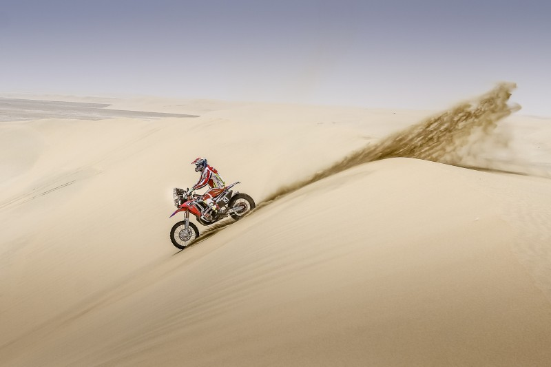 Double for Team HRC in the Sealine fourth stage as Barreda and Goncalves head for podium places
