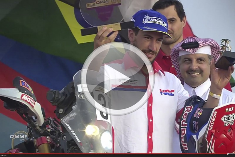 Great all-round performance by Team HRC in Qatar. Video