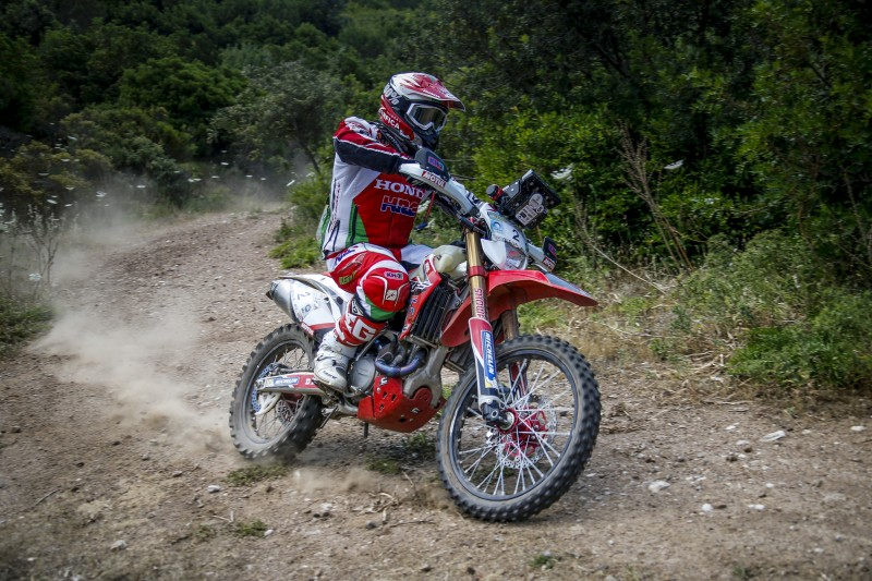 Heavy rain hampers Paulo Goncalves in the Sardegna Rally Race