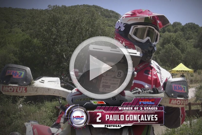 More miles and more experience for Team HRC. Video