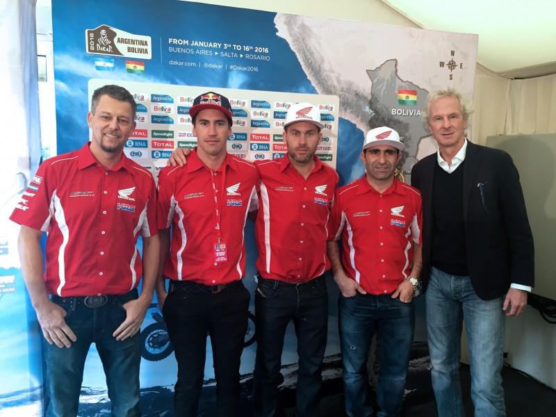 Dakar 2016: Route details unveiled