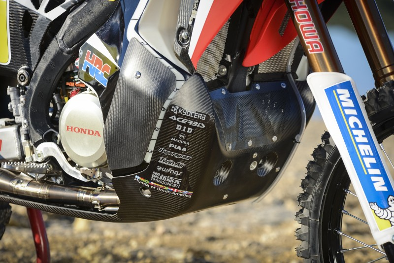 KYOCERA, named Smartphone of Team HRC for Dakar Rally 2016, will supply ruggedized devices for telemetry and communication