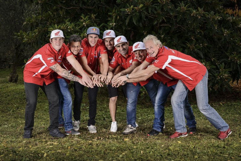 Team HRC more united than ever in the bid to win the Dakar
