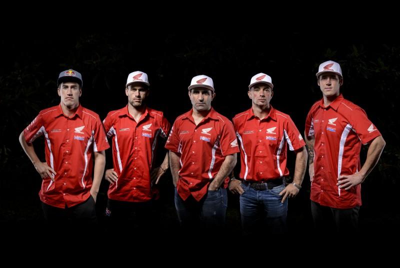 El Team HRC ya está de camino hacia el Dakar 2016