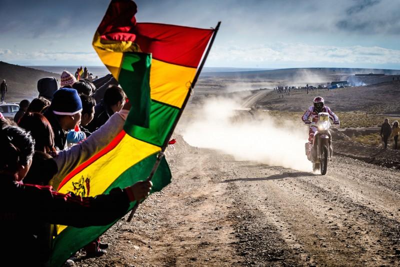 El Dakar entra en Bolivia con Paulo Gonçalves líder de la carrera