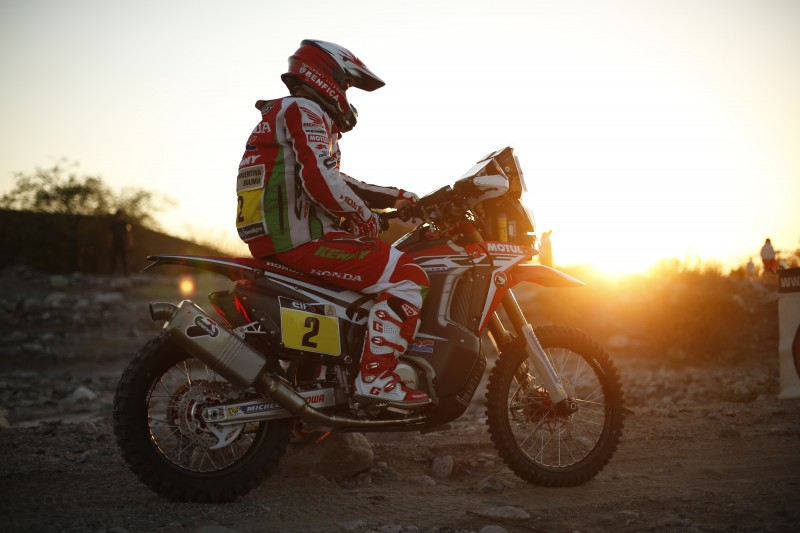 Team HRC refuses to give up at infernal stage of Fiambala