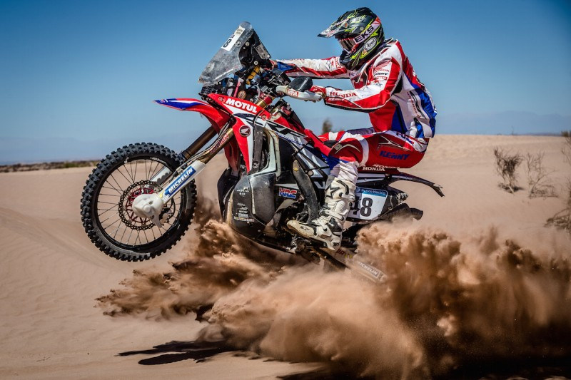 Team HRC overcomes the adversities of the second marathon stage