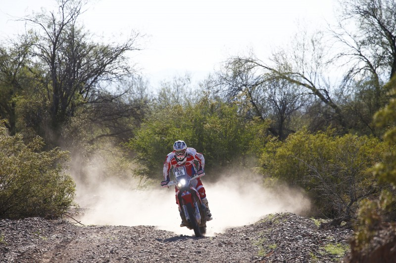 Honda riders, ready to face the 2016 Dakar final stage