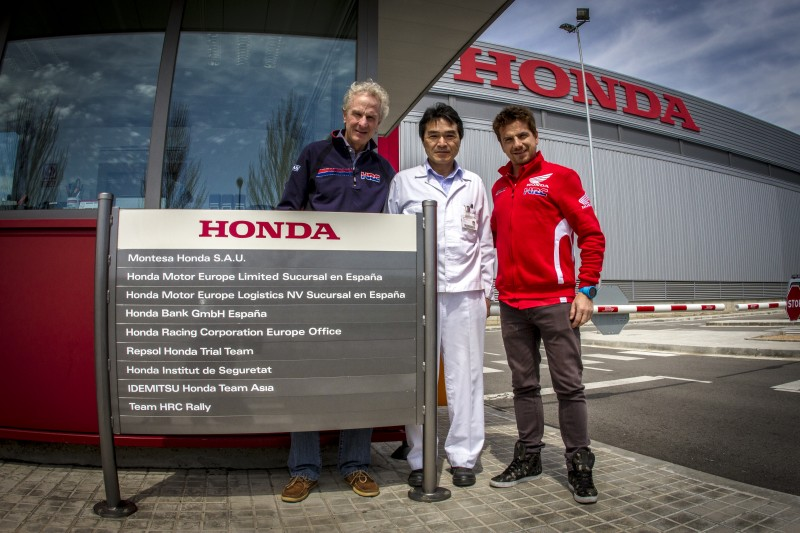 Team HRC Rally moves to Montesa-Honda, in Spain