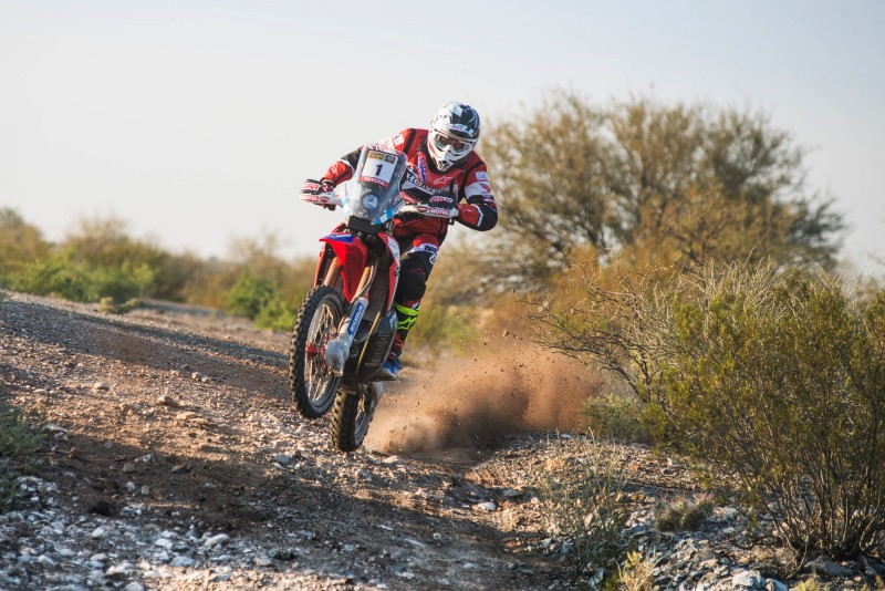 Benavides wins the second stage and Barreda continues to lead the Ruta 40