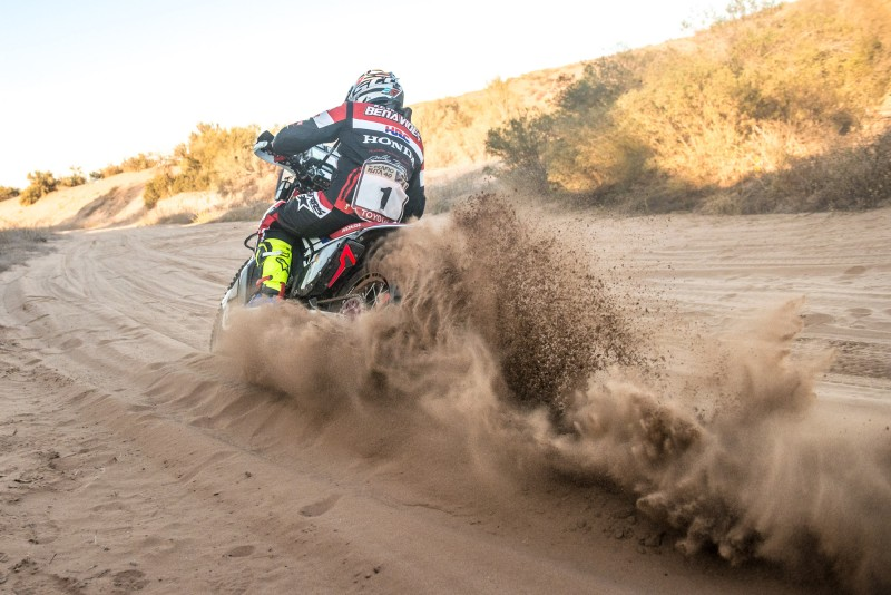 A win for Benavides who takes over from Barreda at the top of the Ruta 40