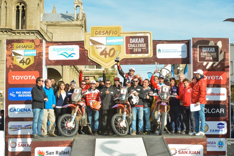 (Video) Mission accomplished for Team HRC in the Desafío Ruta 40