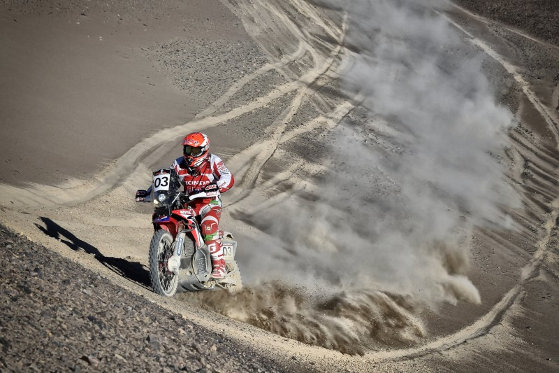 Solid start to the Atacama Rally for Team HRC riders