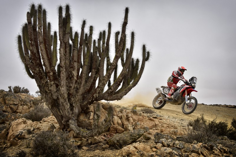Victory for Paulo Gonçalves in the fourth stage of the Atacama Rally