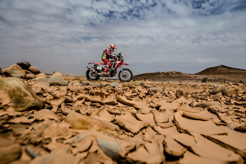 Victory and leadership for Goncalves in Morocco. 1-2 for Honda with Brabec second