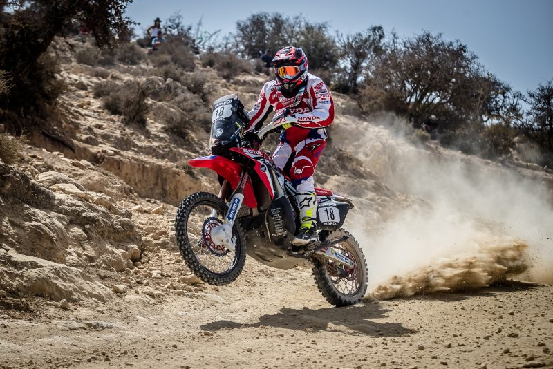 Mixed fortunes for Team HRC in Morocco at Marathon stage