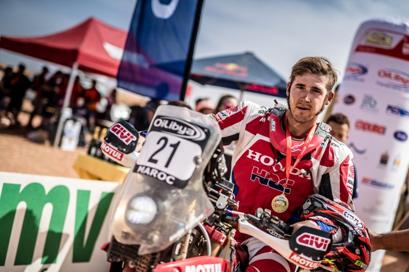 Team HRC finishes the Morocco Rally