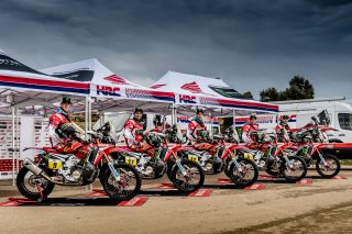 The Monster Energy Honda Team set for Rally Dakar 2017