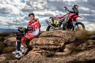 Kevin Benavides and the CRF450 RALLY