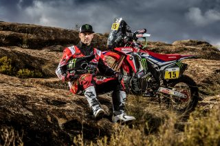 Michael Metge and the CRF450 RALLY