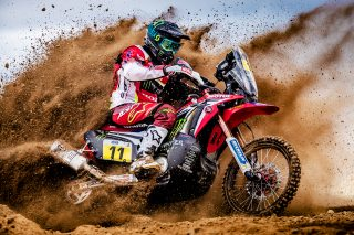 Joan Barreda and the CRF450 RALLY
