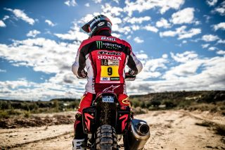 Ricky Brabec and the CRF450 RALLY