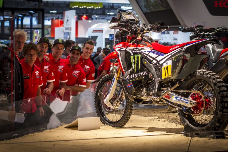 The new Monster Energy Honda Team, the highlight of Milan's EICMA show