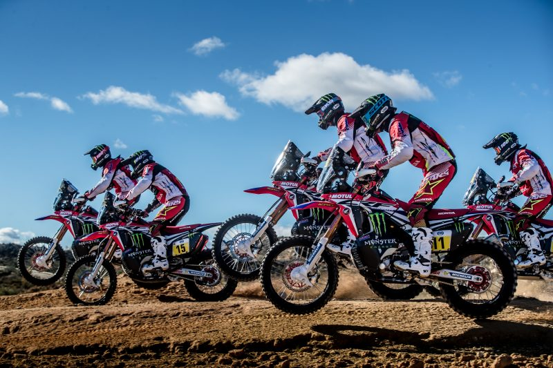 Acerbis and Monster Energy Honda Team united with the same objective