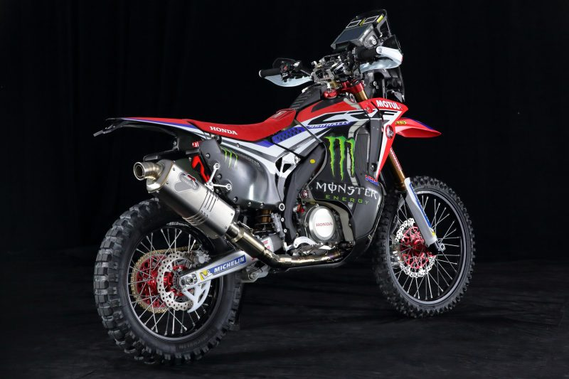 Power for the Honda CRF450 RALLY