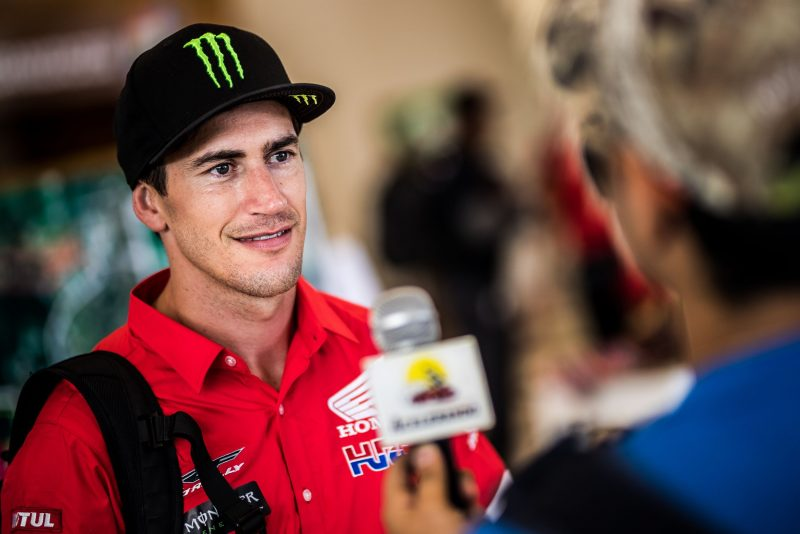 Monster Energy Honda Team riders face the great battle