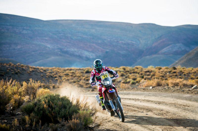 Joan Barreda mantiene el liderato del Dakar con una gran etapa en Bolivia
