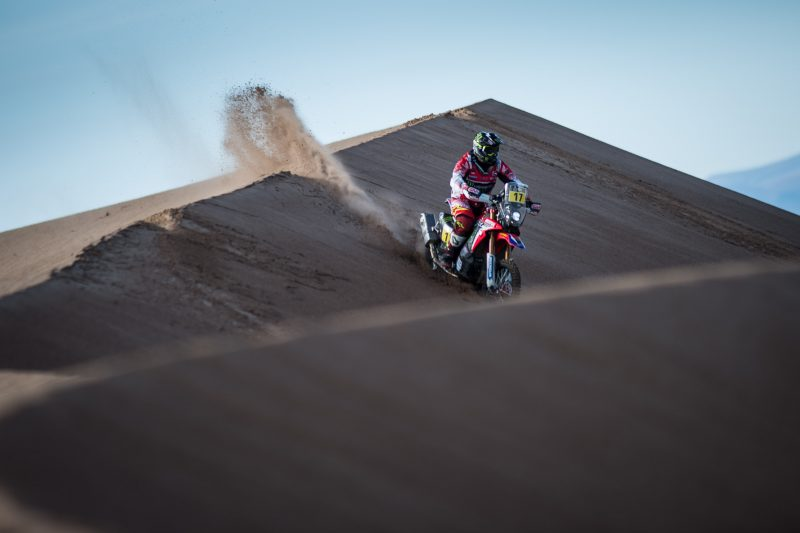 Troublesome stage for the Monster Energy Honda Team in Bolivia