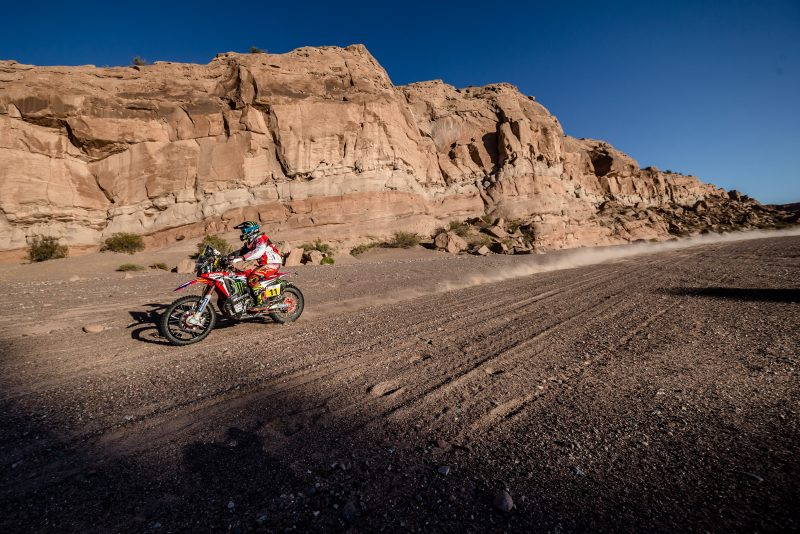 A third victory for Joan Barreda. Monster Energy Honda Team has now won half the stages of the Dakar 2017