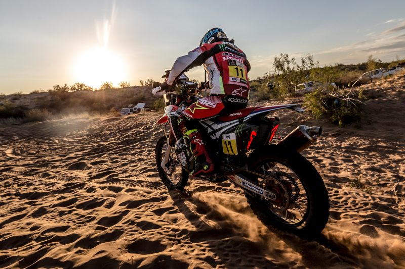 Moral victory for Monster Energy Honda Team in the Dakar Rally 2017