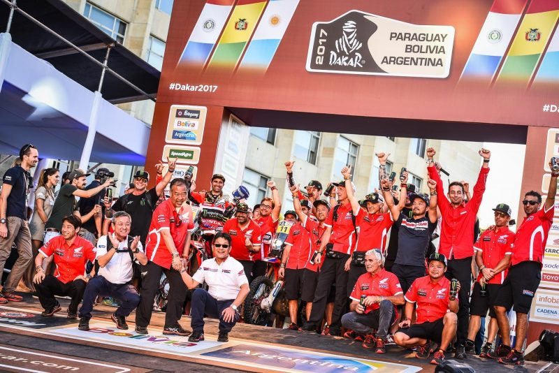 Dakar Rally: Monster Energy Honda Team vow to fight on