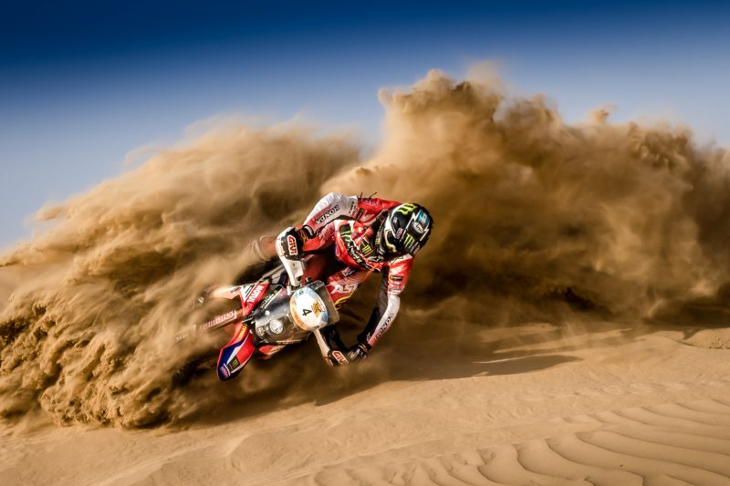 El Monster Energy Honda Team vuelve a Abu Dabi para abrir el Mundial de Cross-Country Rallies